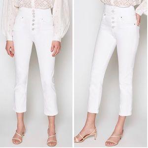 NWT Joie Laurelle High Waist Button Jeans